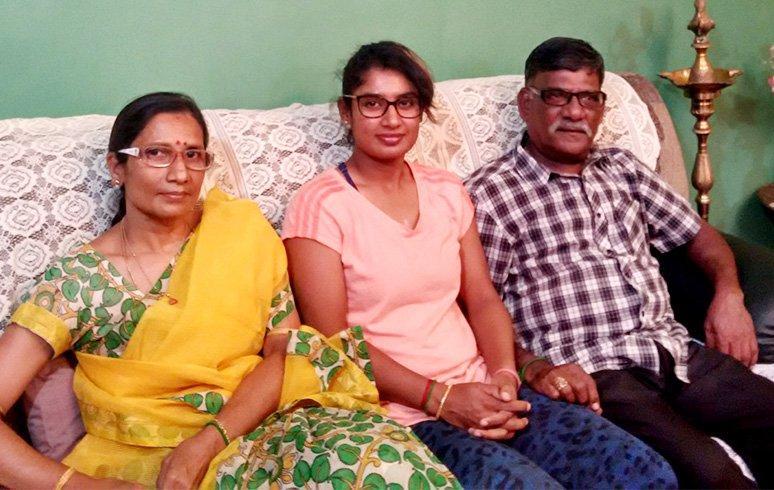 Mithali-Raj-Family-Details