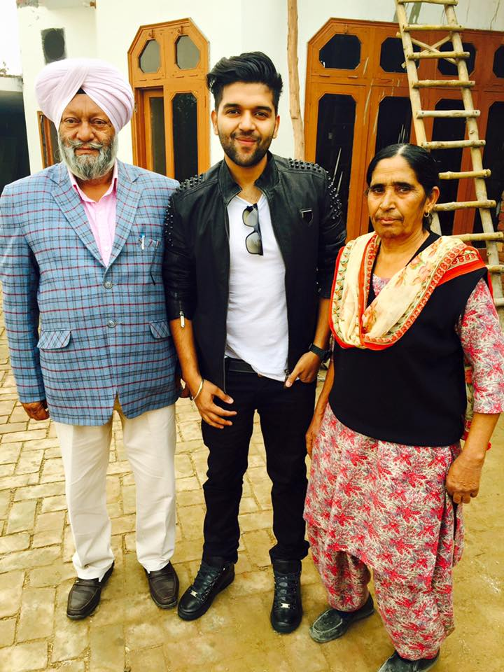 guru-randhawa-family