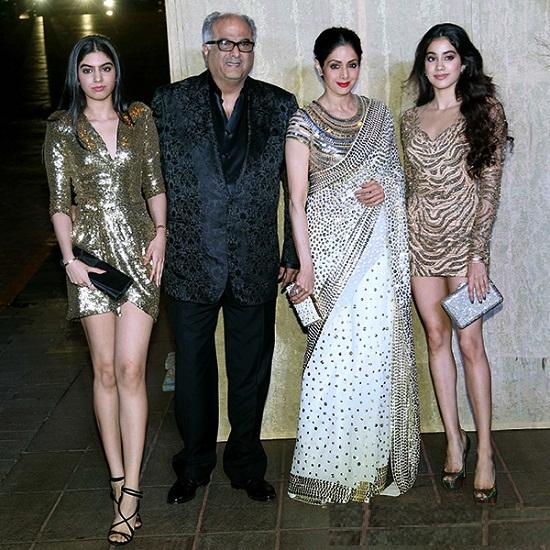 Jhanvi-Kapoor-Family